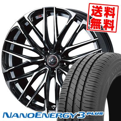 215/45R17 87W TOYO TIRES トーヨー タイヤ NANOENERGY3 PLUS ナノエナジー3 プラス WEDS LEONIS SK ウェッズ レオニスSK サマータイヤホイール4本セット