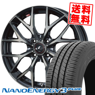 185/60R16 86H TOYO TIRES トーヨー タイヤ NANOENERGY3 PLUS ナノエナジー3 プラス weds LEONIS MX ウェッズ レオニス MX サマータイヤホイール4本セット