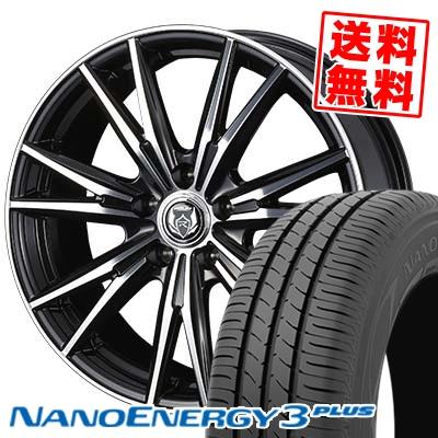 225 45R18 91W TOYO TIRES トーヨー タイヤ NANOENERGY3 PLUS ナノエナジー3 プラス WEDS RIZLEY DK ウェッズ ライツレーDK サマータイヤホイール4本セット