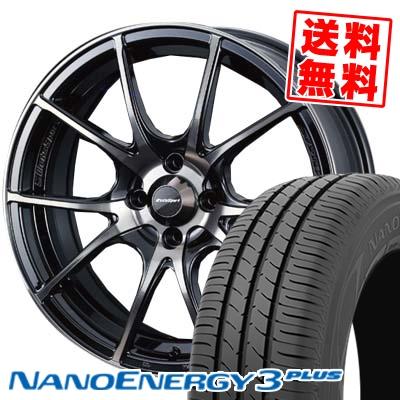 185/65R15 88S TOYO TIRES トーヨー タイヤ NANOENERGY3 PLUS ナノエナジー3 プラス wedsSport SA-10R ウエッズスポーツ SA10R サマータイヤホイール4本セット