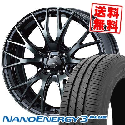 205/40R17 TOYO TIRES トーヨー タイヤ NANOENERGY3 PLUS ナノエナジー3 プラス WedsSport SA-20R ウェッズスポーツ SA20R サマータイヤホイール4本セット