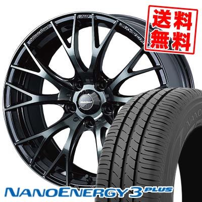 215/35R18 TOYO TIRES トーヨー タイヤ NANOENERGY3 PLUS ナノエナジー3 プラス WedsSport SA-20R ウェッズスポーツ SA20R サマータイヤホイール4本セット