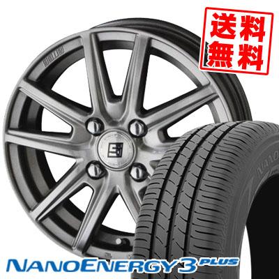 185/55R15 82V TOYO TIRES トーヨー タイヤ NANOENERGY3 PLUS ナノエナジー3 プラス SEIN SS ザイン エスエス サマータイヤホイール4本セット