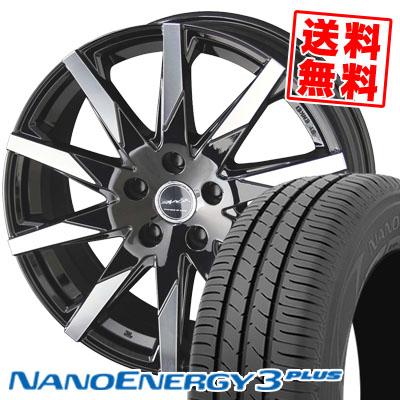 ホットセール 225/50R17 94V TOYO TIRES トーヨー タイヤ NANOENERGY3 PLUS ナノエナジー3 プラス SMACK SFIDA スマック スフィーダ サマータイヤホイール4本セット, GLITTER DRESS d7bf0bd0