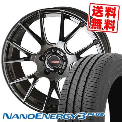 225/55R17 97V TOYO TIRES トーヨー タイヤ NANOENERGY3 PLUS ナノエナジー3 プラス CIRCLAR RM-7 サーキュラー RM-7 サマータイヤホイール4本セット