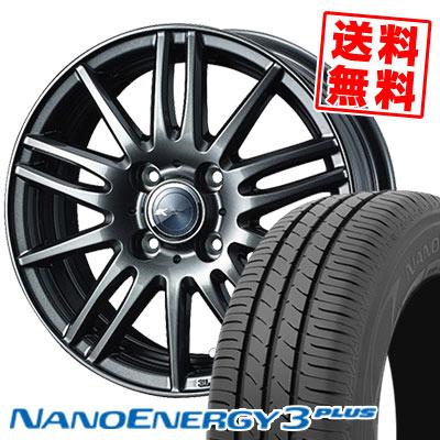 165/65R15 81S TOYO TIRES トーヨー タイヤ NANOENERGY3 PLUS ナノエナジー3 プラス Zamik Tito ザミック ティート サマータイヤホイール4本セット