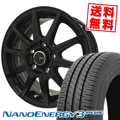 235/40R18 91W TOYO TIRES トーヨー タイヤ NANOENERGY3 PLUS ナノエナジー3 プラス V-EMOTION BR10 Vエモーション BR10 サマータイヤホイール4本セット