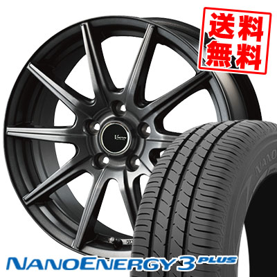 195/60R16 89H TOYO TIRES トーヨー タイヤ NANOENERGY3 PLUS ナノエナジー3 プラス V-EMOTION GS10 Vエモーション GS10 サマータイヤホイール4本セット