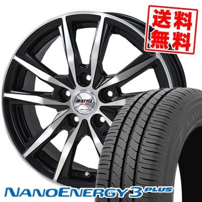 225/50R17 94V TOYO TIRES トーヨー タイヤ NANOENERGY3 PLUS ナノエナジー3 プラス JP STYLE WOLX JPスタイル ヴォルクス サマータイヤホイール4本セット
