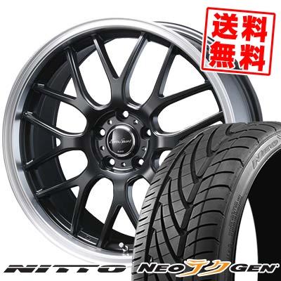 215/40R18 89W NITTO ニットー NEO GEN ネオゲン Eoro Sport Type 805 ユーロスポーツ タイプ805 サマータイヤホイール4本セット