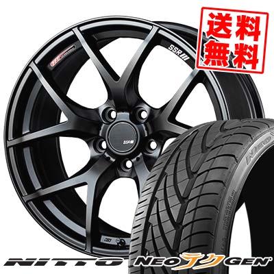 215/35R19 85W NITTO ニットー NEO GEN ネオゲン SSR GTV03 SSR GTV03 サマータイヤホイール4本セット
