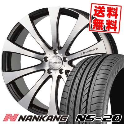 235/35R20 92W XL NANKANG ナンカン NS-20 エヌエスニジュー VENERDi LEVOLTE ヴェネルディ レヴォルテ サマータイヤホイール4本セット