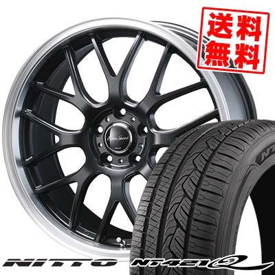215/60R17 96V NITTO ニットー NT421Q NT421Q Eoro Sport Type 805 ユーロスポーツ タイプ805 サマータイヤホイール4本セット