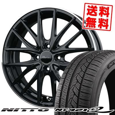 245/45R20 NITTO ニットー NT421Q NT421Q Precious AST M1 プレシャス アスト M1 サマータイヤホイール4本セット