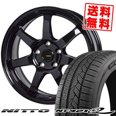 225/60R18 104V XL NITTO ニットー NT421Q NT421Q G.speed G-03 Gスピード G-03 サマータイヤホイール4本セット
