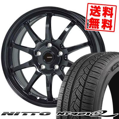 225/60R18 104V XL NITTO ニットー NT421Q NT421Q G.speed G-04 Gスピード G-04 サマータイヤホイール4本セット