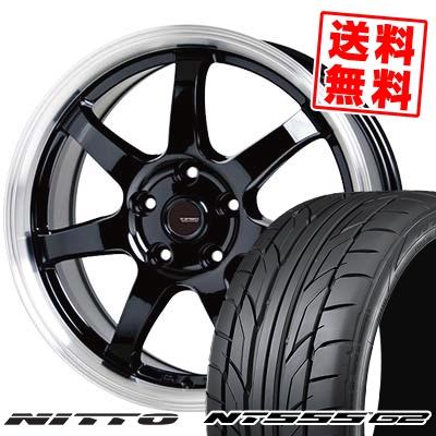 215/45R17 91W XL NITTO ニットー NT555 G2 NT555 G2 G.speed P-03 ジースピード P-03 サマータイヤホイール4本セット