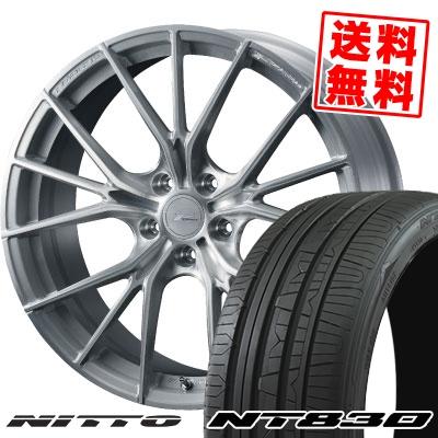 235/50R18 101Y NITTO ニットー NT830 NT830 WEDS F ZERO FZ-1 ウェッズ エフゼロ FZ-1 サマータイヤホイール4本セット