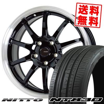 215/50R17 95W NITTO ニットー NT830 NT830 G.speed P-04 ジースピード P-04 サマータイヤホイール4本セット
