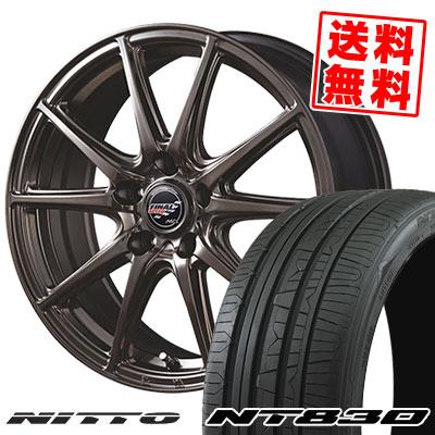235/40R18 95Y NITTO ニットー NT830 NT830 FINALSPEED GR-Volt ファイナルスピード GRボルト サマータイヤホイール4本セット