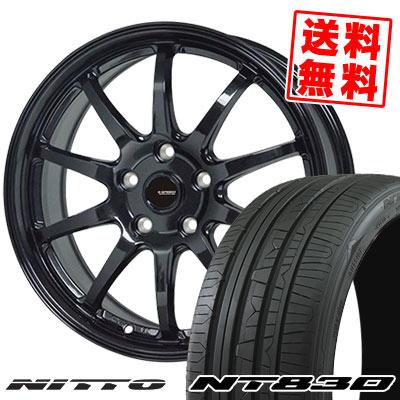235/50R18 101Y NITTO ニットー NT830 NT830 G.speed G-04 Gスピード G-04 サマータイヤホイール4本セット