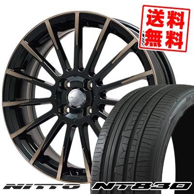 165/55R15 NITTO ニットー NT830 NT830 Leyseen F-XV レイシーン FX-V サマータイヤホイール4本セット