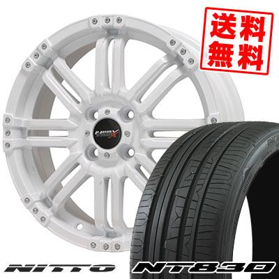 165/45R16 74W NITTO ニットー NT830 NT830 B-MUD X Bマッド エックス サマータイヤホイール4本セット