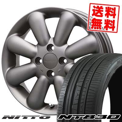 165/55R15 NITTO ニットー NT830 NT830 HYPERION PINO+(Plus) ハイペリオン ピノ+(プラス) サマータイヤホイール4本セット