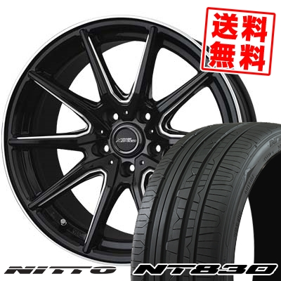 235/45R17 97Y NITTO ニットー NT830 NT830 CROSS SPEED PREMIUM RS10 クロススピード プレミアム RS10 サマータイヤホイール4本セット