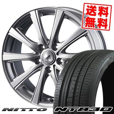 225/45R18 95Y NITTO ニットー NT830 NT830 AZ sports YL-10 AZスポーツ YL-10 サマータイヤホイール4本セット