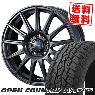 215/70R16 100H TOYO TIRES トーヨー タイヤ OPEN COUNTRY A/T plus オープンカントリー A/T plus VELVA IGOR ヴェルヴァ イゴール サマータイヤホイール4本セット