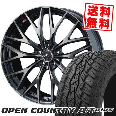 215/70R16 100H TOYO TIRES トーヨー タイヤ OPEN COUNTRY A/T plus オープンカントリー A/T plus weds LEONIS MX ウェッズ レオニス MX サマータイヤホイール4本セット