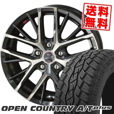 245/70R16 111H XL TOYO TIRES トーヨー タイヤ OPEN COUNTRY A/T plus オープンカントリー A/T plus SMACK REVILA スマック レヴィラ サマータイヤホイール4本セット