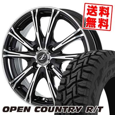 145/80R12 80/78N TOYO TIRES トーヨー タイヤ OPEN COUNTRY R/T オープンカントリー R/T 5ZIGEN INPERIO X-5 5ジゲン インペリオ X-5 サマータイヤホイール4本セット