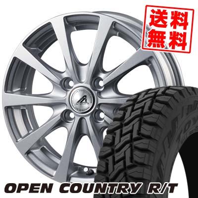 165/60R15 77Q TOYO TIRES トーヨー タイヤ OPEN COUNTRY R/T オープンカントリー R/T AZ SPORTS EX10 AZスポーツ EX10 サマータイヤホイール4本セット
