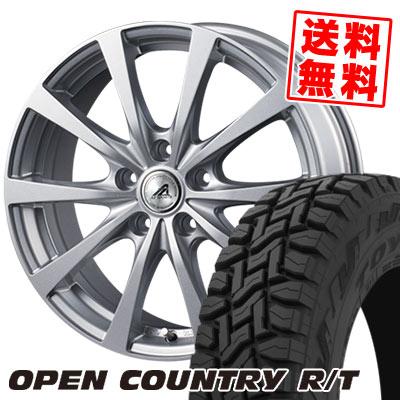 225/65R17 102Q TOYO TIRES トーヨー タイヤ OPEN COUNTRY R/T オープンカントリー R/T AZ SPORTS EX10 AZスポーツ EX10 サマータイヤホイール4本セット