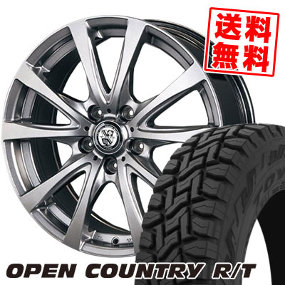 215/70R16 100Q TOYO TIRES トーヨー タイヤ OPEN COUNTRY R/T オープンカントリー R/T TRG-BAHN TRG バーン サマータイヤホイール4本セット