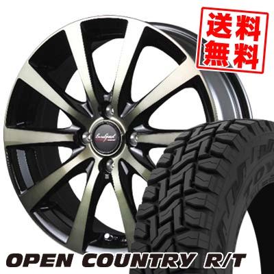 145/80R12 80/78N TOYO TIRES トーヨー タイヤ OPEN COUNTRY R/T オープンカントリー R/T EuroSpeed BL10 ユーロスピード BL10 サマータイヤホイール4本セット