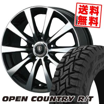 225/55R18 98Q TOYO TIRES トーヨー タイヤ OPEN COUNTRY R/T オープンカントリー R/T EUROSPEED BL10 ユーロスピード BL10 サマータイヤホイール4本セット