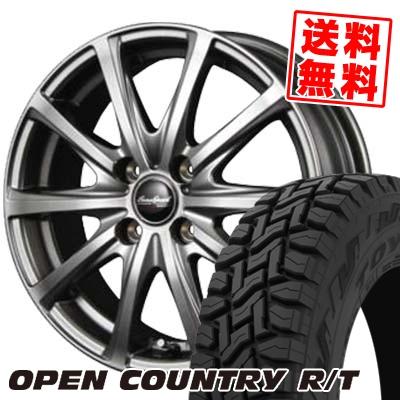 165/60R15 77Q TOYO TIRES トーヨー タイヤ OPEN COUNTRY R/T オープンカントリー R/T EuroSpeed V25 ユーロスピード V25 サマータイヤホイール4本セット