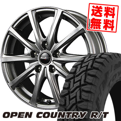 215/70R16 100Q TOYO TIRES トーヨー タイヤ OPEN COUNTRY R/T オープンカントリー R/T EuroSpeed V25 ユーロスピード V25 サマータイヤホイール4本セット