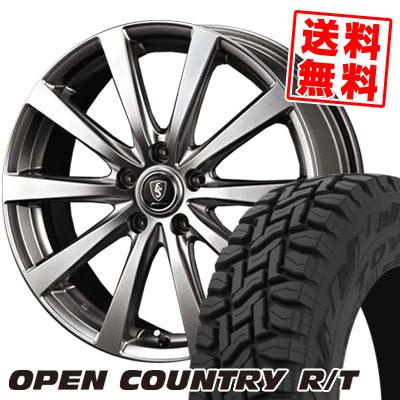 225/55R18 98Q TOYO TIRES トーヨー タイヤ OPEN COUNTRY R/T オープンカントリー R/T Euro Speed G10 ユーロスピード G10 サマータイヤホイール4本セット