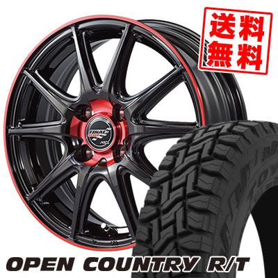 165/60R15 77Q TOYO TIRES トーヨー タイヤ OPEN COUNTRY R/T オープンカントリー R/T FINALSPEED GR-Volt ファイナルスピード GRボルト サマータイヤホイール4本セット