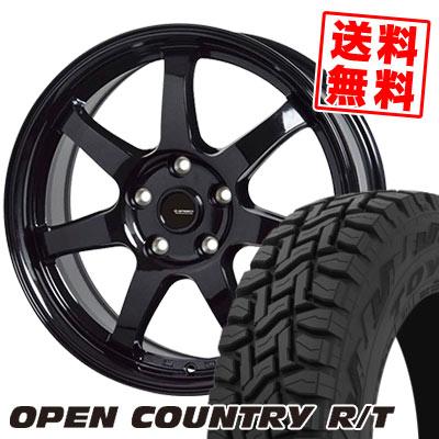 215/70R16 100Q TOYO TIRES トーヨー タイヤ OPEN COUNTRY R/T オープンカントリー R/T G.speed G-03 Gスピード G-03 サマータイヤホイール4本セット