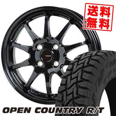 165/60R15 77Q TOYO TIRES トーヨー タイヤ OPEN COUNTRY R/T オープンカントリー R/T G.speed G-04 Gスピード G-04 サマータイヤホイール4本セット