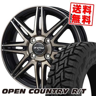 165/60R15 77Q TOYO TIRES トーヨー タイヤ OPEN COUNTRY R/T オープンカントリー R/T JP STYLE JERIVA JPスタイル ジェリバ サマータイヤホイール4本セット