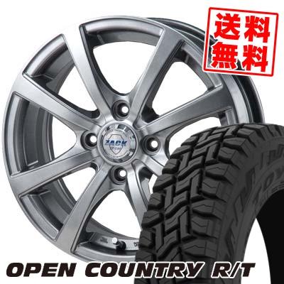 165/60R15 77Q TOYO TIRES トーヨー タイヤ OPEN COUNTRY R/T オープンカントリー R/T ZACK JP-110 ザック JP110 サマータイヤホイール4本セット