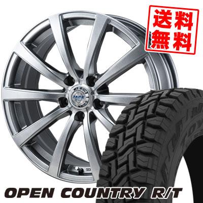 225/55R18 98Q TOYO TIRES トーヨー タイヤ OPEN COUNTRY R/T オープンカントリー R/T ZACK JP-110 ザック JP110 サマータイヤホイール4本セット