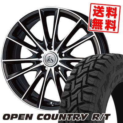 【限定品】 225/55R18 98Q TOYO TIRES トーヨー タイヤ OPEN COUNTRY R/T オープンカントリー R/T Kashina FV7 カシーナ FV7 サマータイヤホイール4本セット, 丹波市 4152cc4e