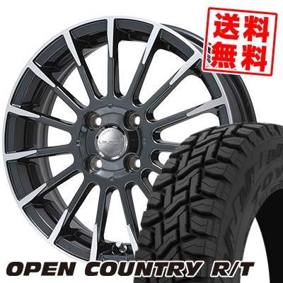 165/60R15 77Q TOYO TIRES トーヨー タイヤ OPEN COUNTRY R/T オープンカントリー R/T Leyseen F-XV レイシーン FX-V サマータイヤホイール4本セット